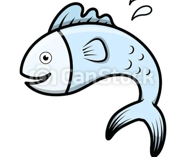 Cute Cartoon Fish Vector