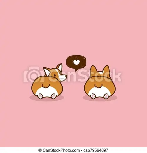Download Dogs. corgi dog. love speech bubble. corgi love. vector ...