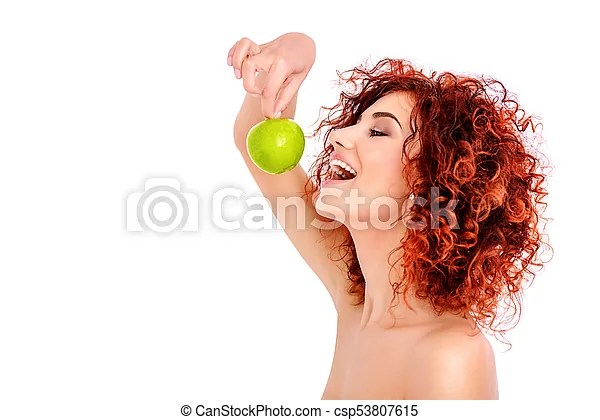 Eat An Apple Beauty Natural Cosmetics And Hair Concept