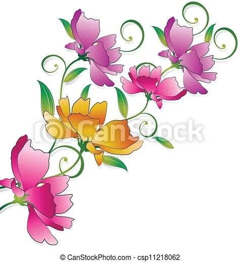 fancy flower bunch for