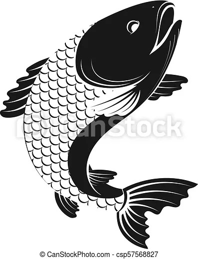 fish simple silhouette