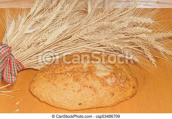 french bread with wheat