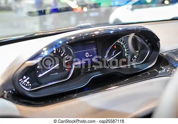futuristic dashboard in new
