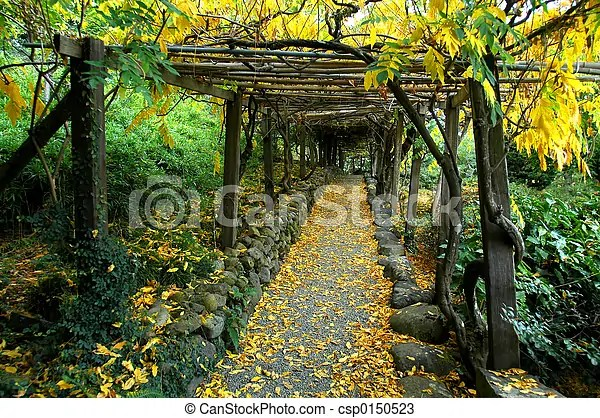 Garden Arbor Japanese Garden Arbor