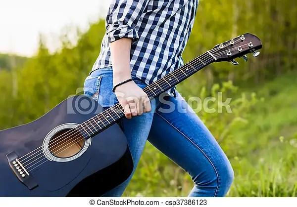 girl walking in the
