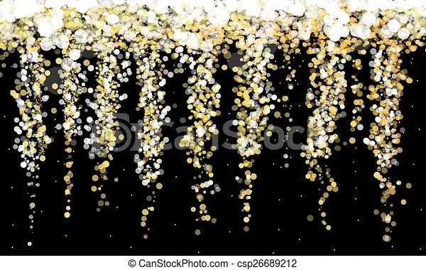 gold and yellow glitter sparkle