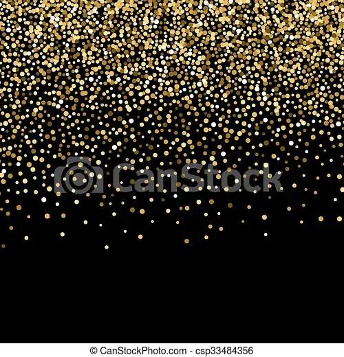 Falling Gold Sparkles Wallpaper Gold Sparkles On White Background Gold Glitter Background