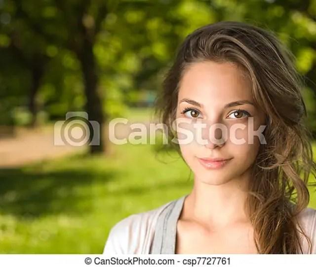 Gorgeous Brunette Girl Csp7727761