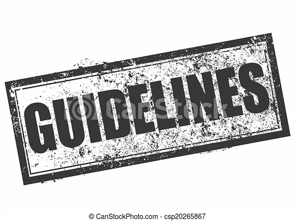 Guidelines stamp. Guidelines grunge stamp with on vector