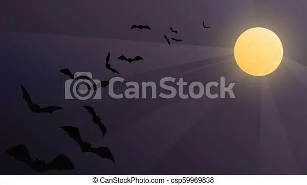 halloween vector background with