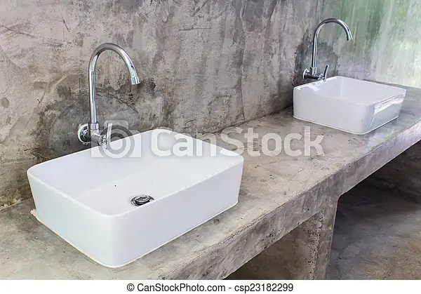 Hand washing basin.