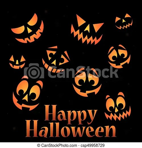 Happy halloween sign thematic image 5 - eps10 vector illustration.