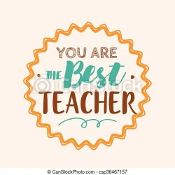 teachers happy clipart vector typography teacher clip card banner greeting artwork stamp lettering drawings drawing icon line illustrations eps