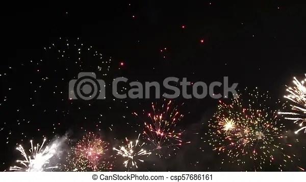 hd firework show slow