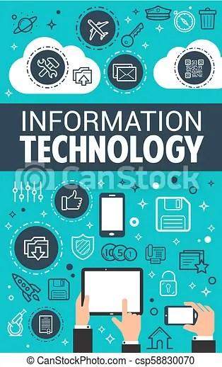 information technology data vector