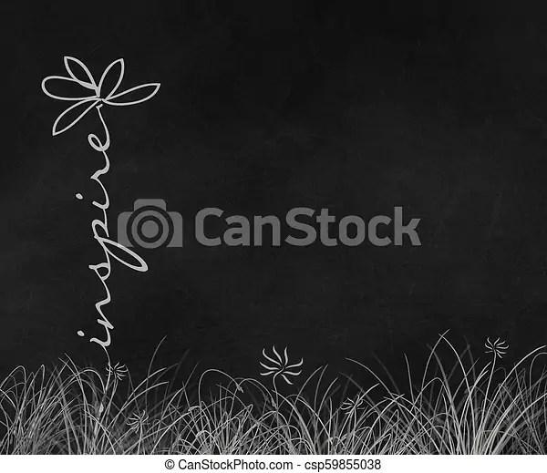 inspire daisy text on