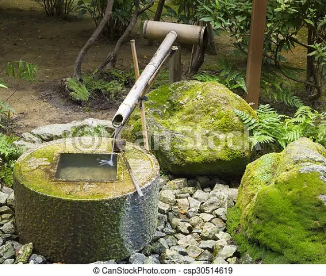 Japanese Traditional Bamboo Fountain Csp