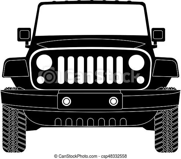 20 Jeep Yj Silhouette Clip Art Ideas And Designs