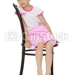 Little Girl Chairs How To Fold Up A Cosco High Chair Is Sitting On Nice Csp52139071