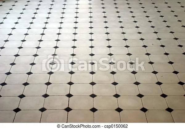 Marble floor Stone floor pattern in perspective