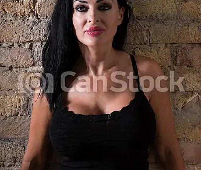 Mature Woman Portrait Csp58162720