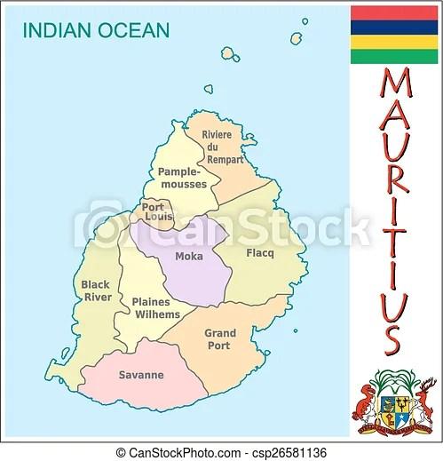 Mauritius administrative divisions Administrative