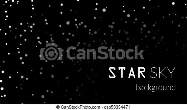 Zendha Black And White Star Wallpaper