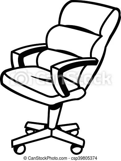 office chair vector antique morris illustration csp39805374