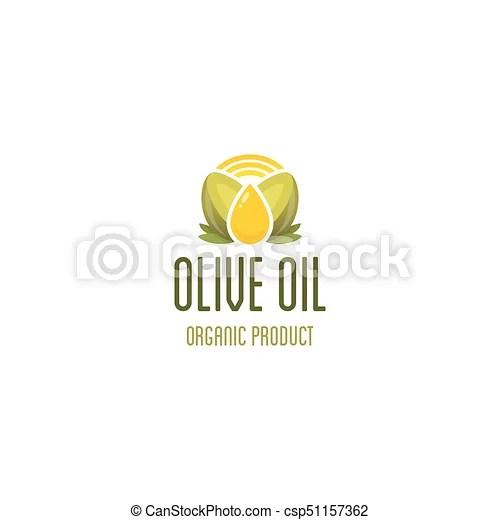 olive oil drop logo