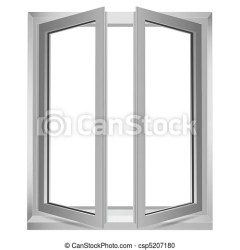 window open clipart vector clip illustration background drawing drawings canstockphoto