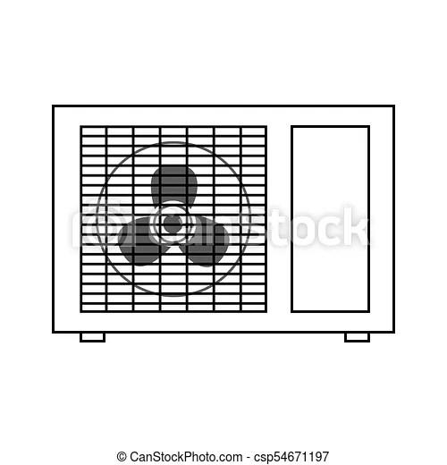 outdoor vector air conditioner