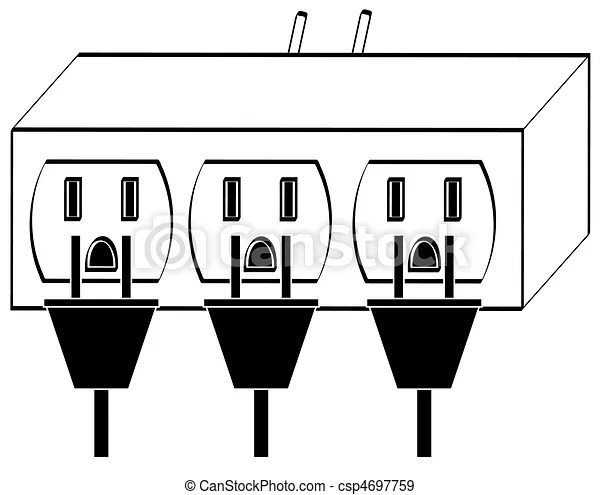 Electrical Outlet Power Strip Electrical Plug Molding