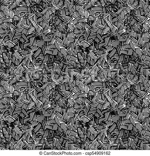 pattern of rough hatching