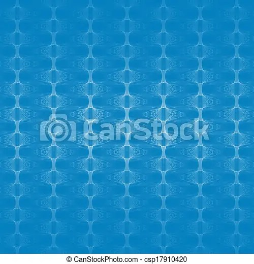 patterned wallpaper on blue