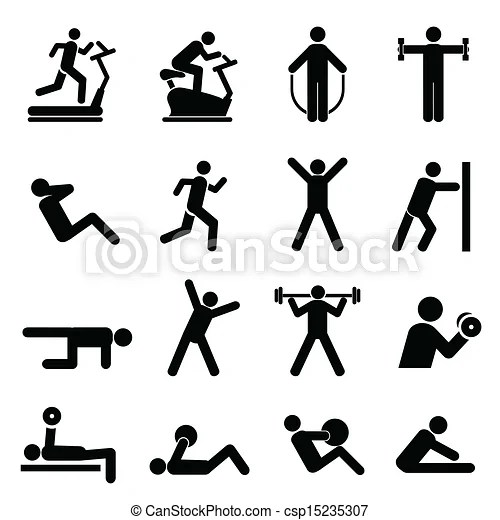 People exercising for health and fitness.