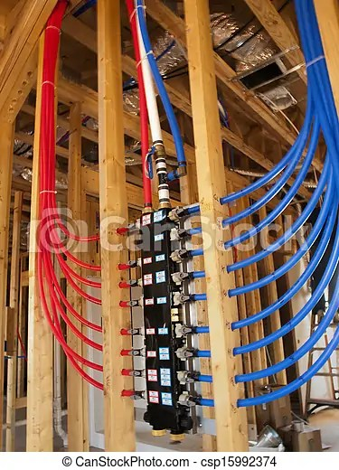 Pex plumbing manifold is the future of plumbing. the pex
