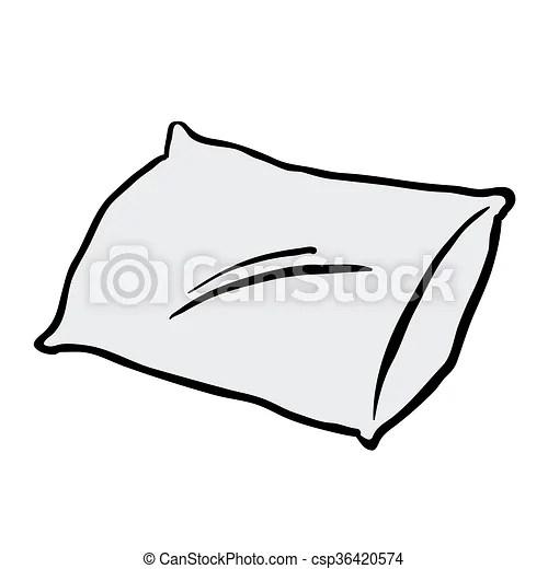 Pillow cartoon.