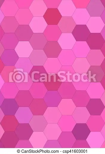 https www canstockphoto com pink abstract hexagonal tile mosaic 41603001 html