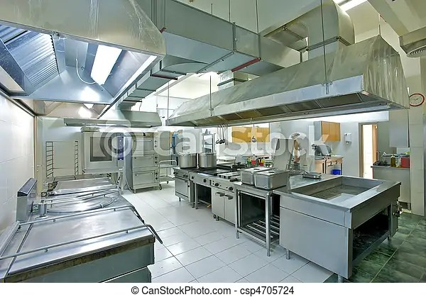 Professional kitchen Overview of a professional kitchen