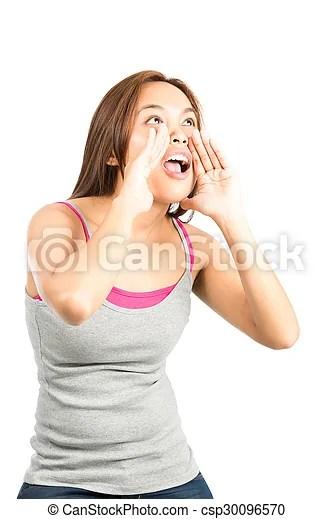 profile screaming asian female