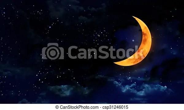 pumpkin half moon with