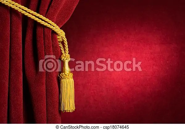 https www canstockphoto com red theatre curtain 18074645 html