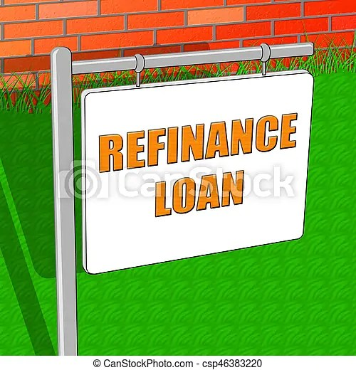 Refinance loan shows equity mortgage 3d illustration. Refinance loan showing equity mortgage 3d illustration.