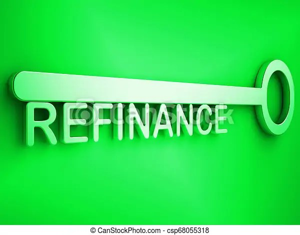 Refinance your home key representing home equity line of credit - 3d illustration. Refinance your home key representing home equity line of credit ...