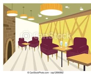 Restaurant interior CanStock