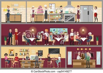 Restaurant interior Stock Illustration Images 12 396 Restaurant interior illustrations available to search from thousands of royalty free EPS vector clip art graphics image creators