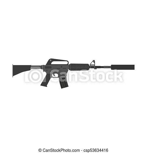 rifle vector gun assault