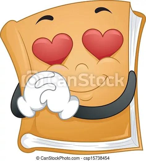 romantic novels. illustration of