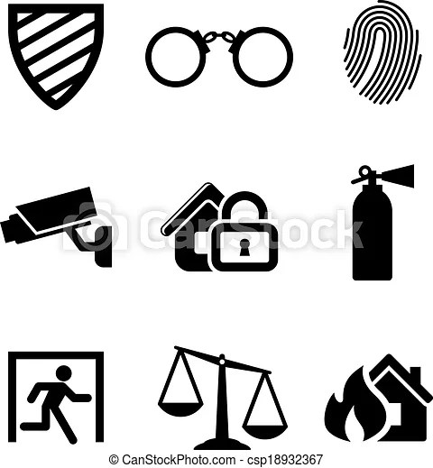 20 Safety Security Clip Art Ideas And Designs