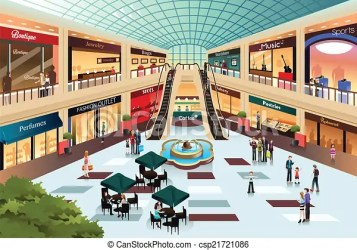 mall shopping inside scene clipart illustration vector clip shutterstock drawing drawings clipartpanda illustrations royalty graphic eps artwork line icon canstockphoto